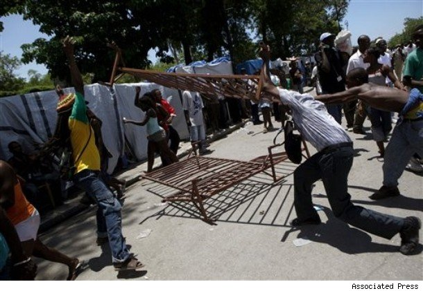 Haitians Protest President Extending Term