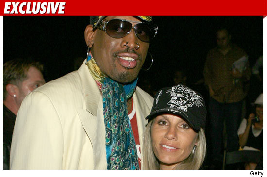 Rodman's Wife -- The Worm Got Me Evicted ... TWICE