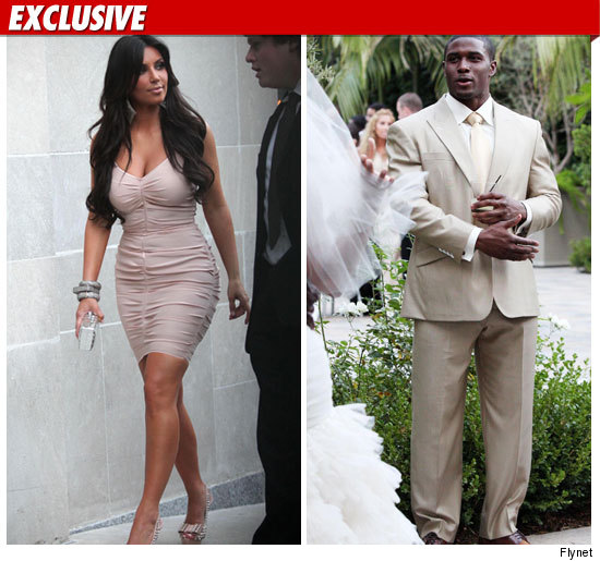 Kim Kardashian and Reggie Bush -- Drunken Wedding Fight