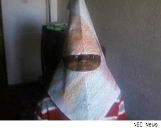 Parents Say Kid's Art Project Looks Like KKK Hood