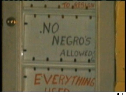 'No Negroes Allowed' Sign Marks Future Wisconsin Business, Mark Prior