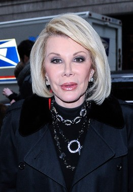 Joan Rivers Calls Michelle Obama 'Blackie O'