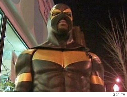 Real-Life Superhero Fights Crime in Seattle Suburb