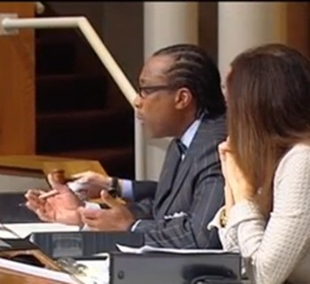 Dallas Commissioner John Wiley Price Loses His Cool