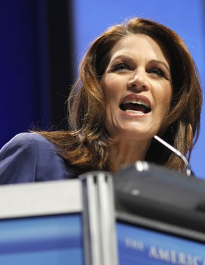 Tea Partying Republican Michele Bachmann Says Obama Runs a 'Gangster Government'