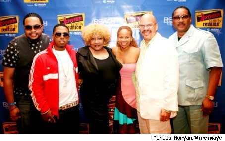 , Miss Dupre, Donna Richardson Joyner, Tom Joyner & Dr. Bobby Jones