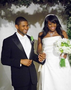 Usher Wedding Photo