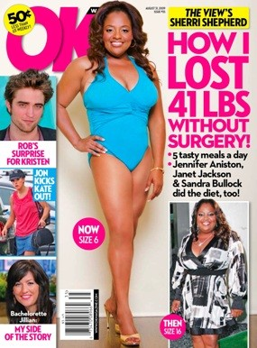 Sherri Shepherd OK! Cover