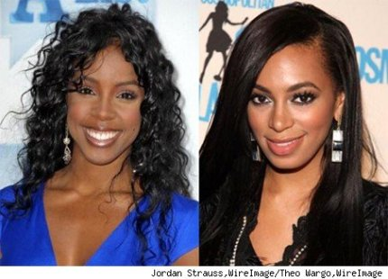 Kelly Rowland/Solange