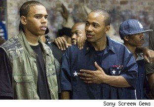 Chris Brown & Columbus Short in'Stomp the Yard'