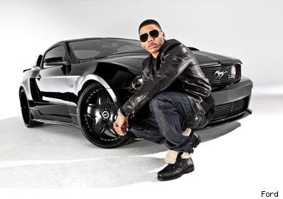 Nelly and his Ford 5.0 Mustang
