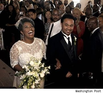 Kellie S. Williams on her wedding day