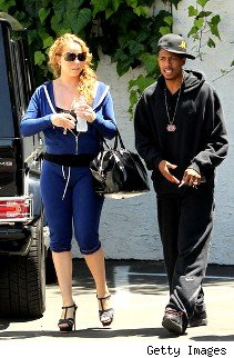 Mariah & Nick leave a medical building