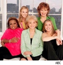 Star Jones, Elisabeth Hasselbeck, Barbara Walters, Joy Behar & Meredith Vieira