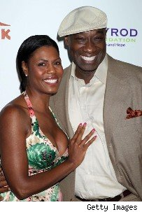 ... 'The Green Mile' actor under wraps whil Omarosa & Michael Clarke Duncan