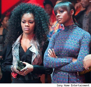 Teyana Taylor & Tika Sumpter in 'Stomp the Yard: Homecoming'