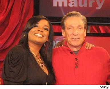 Syleena Johnson &amp; Maury Povich