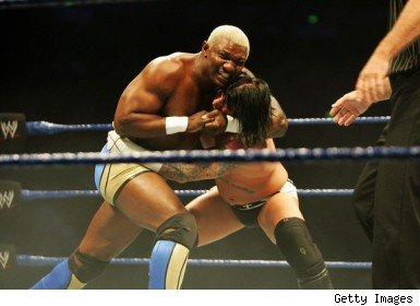 Shelton Benjamin wrestling