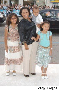Chandra Wilson & family