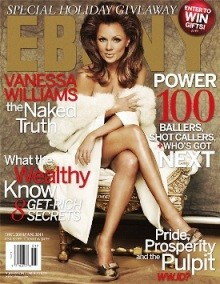 Vanessa Williams' Ebony magazine cover