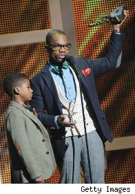 Kirk Franklin & son
