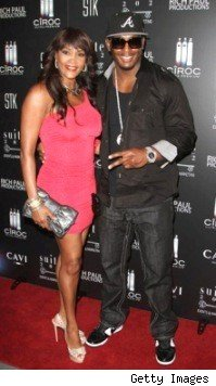 Vivica A. Foxx &amp; Slim