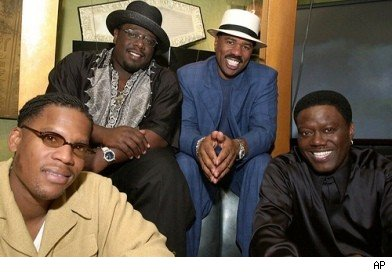 The Original Kings of Comedy:  DL Hughley, Cedric The Entertainer,  Steve Harvey & Bernie Mac