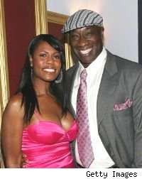 Omarosa &amp; Michael Clarke Duncan