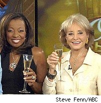 Star Jones &amp; Barbara Walters
