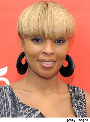 mary j blige hairstyles. Mary J Blige may be known for