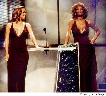 Arguably two of the most talented singers in the record books, Mariah Carey