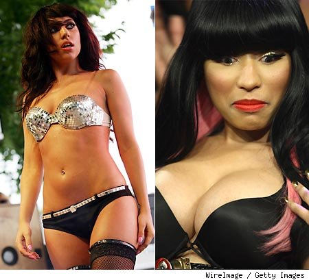 nicki minaj red carpet 2010. nicki minaj red carpet 2010.