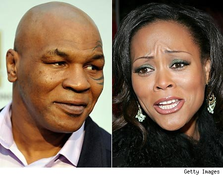 sunset with her bad blood towards ex-husband Mike Tyson, think again!
