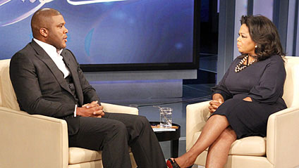 Tyler Perry Talks About Child Abuse with Oprah