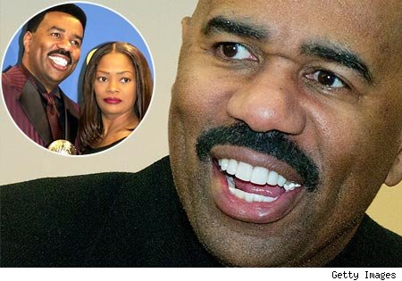 steve harvey 450pk012411 Steve Harvey: Taking The High Road Regarding Ex Wifes Salacious Smear Campaign