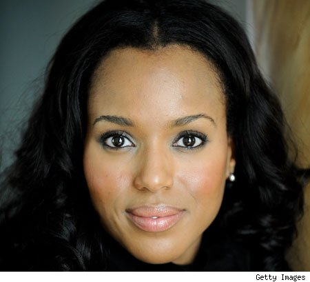 Pink lipsticks: Celebrities like Kerry Washington in a pale pink and Rihanna ...