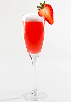Spring Berry Champagne Cocktail Recipes — Dishmaps