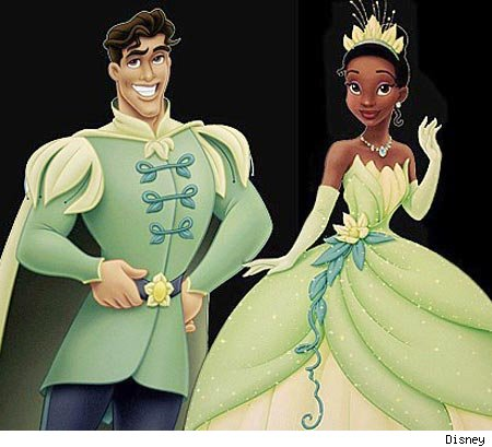 disney princess cinderella and prince. (Prince Naveen and Princess