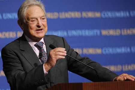 George Soros Backs Making Marijuana Legal