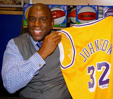 Magic Johnson Invests in Vibe Holdings, LLC