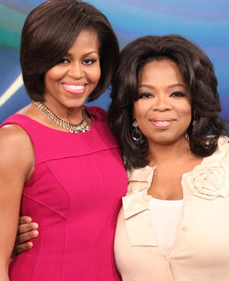 Oprah and First Lady Michelle Obama: Newsweek Poll