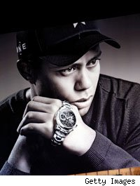 Tiger Woods and Tag Heuer