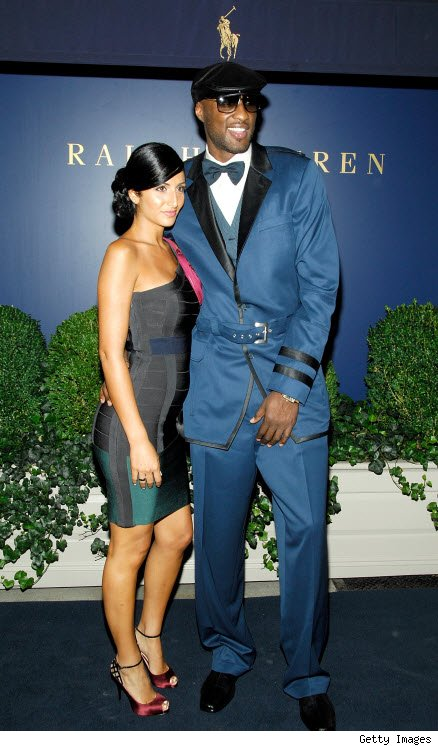 Laker Lamar Odom Sues Ex Over Visitation Rights