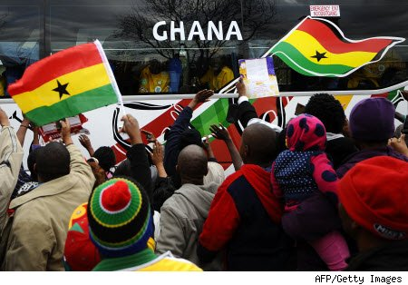Ghana Suspended From Olympic Events