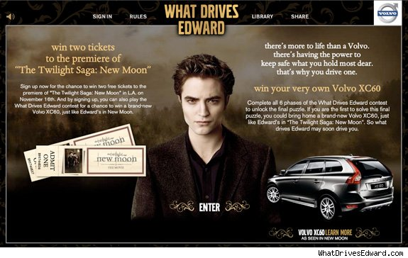 volvo gives away edward cullens car in new moon contest