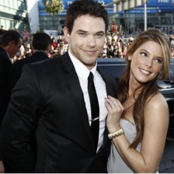Kellan Lutz Crushing on Ashley Greene? Only in 'Warrior'