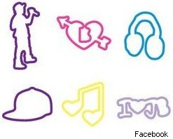 Bieber Silly Bandz