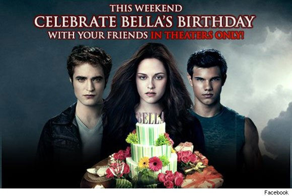Bella's birthday Eclipse poster