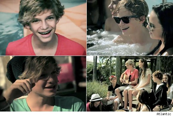 cody simpson summertime video