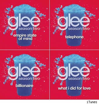 glee season two songs from 'audition'